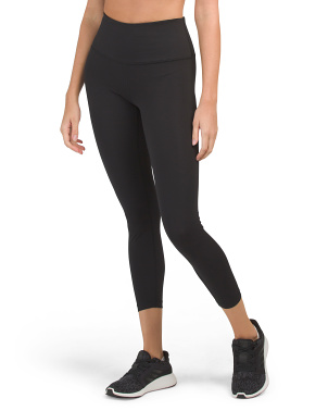 Lux High Rise Basic Ankle Leggings