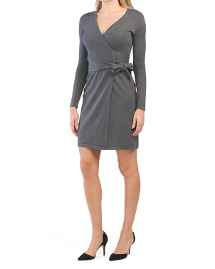 Linda Cashmere Wrap Dress