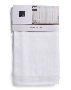 38x96 Set Of 4 Brugge Sheer Curtains