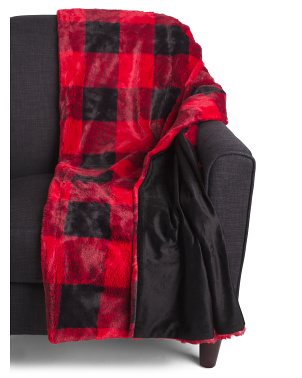 Koda Buffalo Plaid Throw