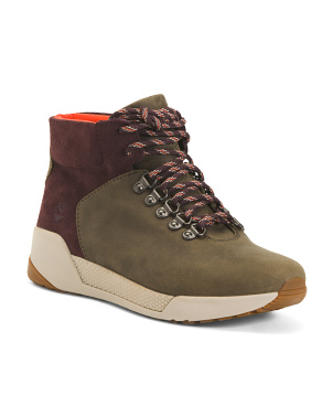 Waterproof Leather Hiker Boots