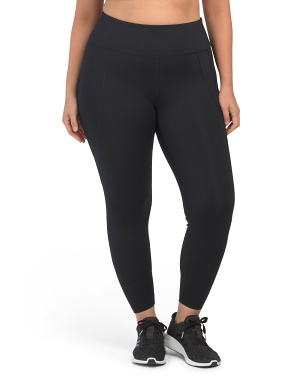 Plus High Rise Leggings