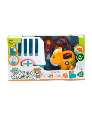 Puppy Vet Carrier Set