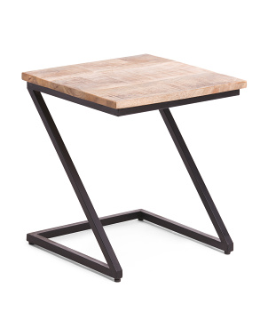 Lilly Mango Wood Z Table