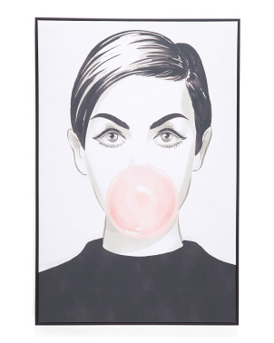 24x36 Bubblegum Idol Wall Art