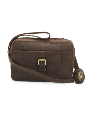 Granada Leather Crossbody