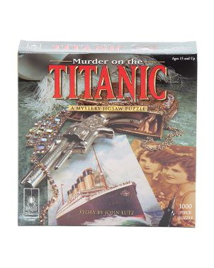 Murder On The Titanic Mystery Jigsaw Puzzle