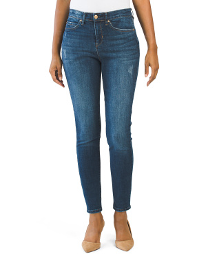 Comfort Waist High Rise Skinny Jeans
