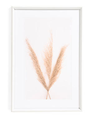24x36 Dried Leaf Hanging Wall Art