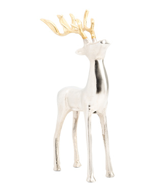 16in Decorative Reindeer With Antlers