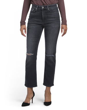 Nina High Rise Ankle Cigarette Jeans