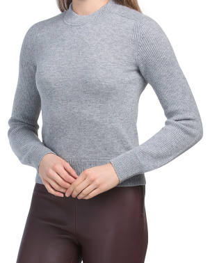 Logan Cashmere Crew Neck Sweater