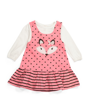 Infant Girls 2pc Jumper Set