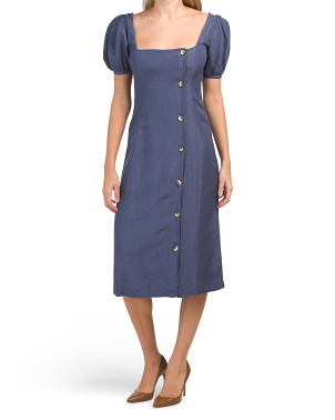 Above Deck Midi Dress