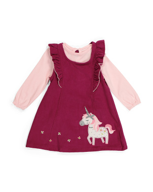 Toddler Girls 2pc Jumper Set