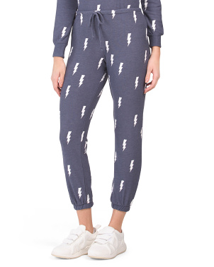 Lightning Bolt Lounge Joggers