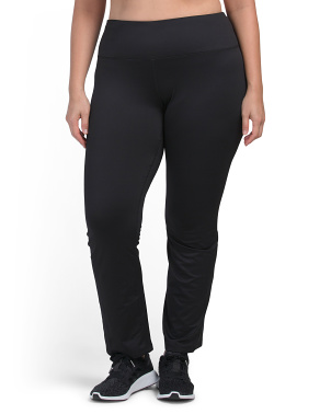 Plus Brushed Tummy Control Bootcut Leggings