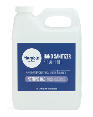 32oz Unscented Hand Sanitizer Refill Bottle