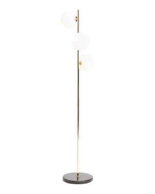 Marble Base Floor Lamp