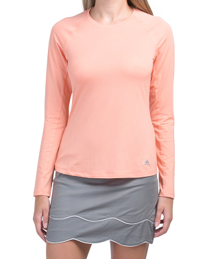 Knit Long Sleeve Base Layer Top