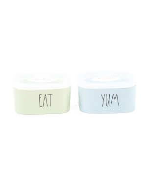 Eat And Yum Food Storage Set