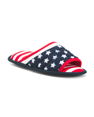 Americana Slide Slippers