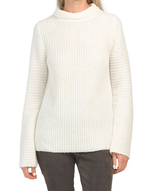 Wool Ghost High Neck Sweater