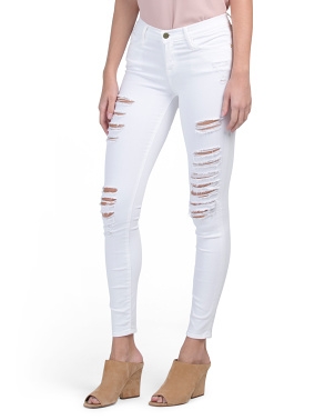 Made In Usa Distressed Skinny Jeans