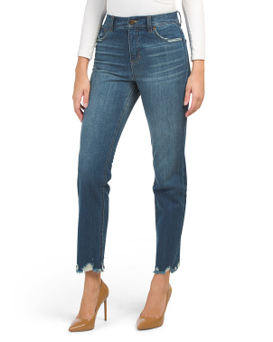 Piper High Rise Straight Jeans