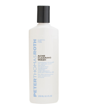 8.5oz Acne Clearing Wash