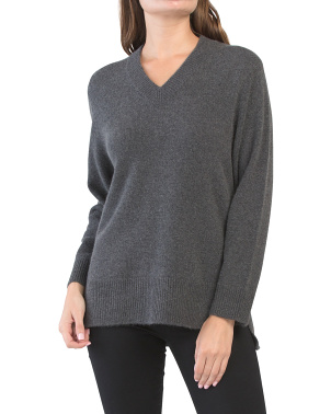 Hi-lo Cashmere Sweater