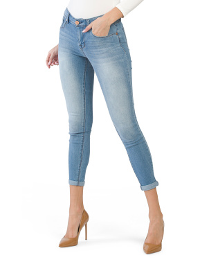 Light Heritage Rolled Jeans