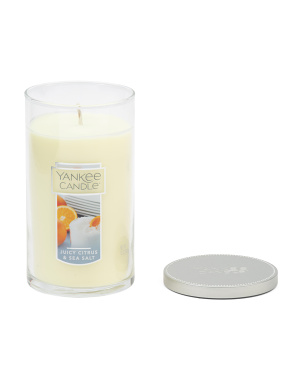Made In Usa 12oz Citrus And Sea Salt Candle