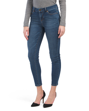 High Rise Recycle Denim Skinny Jeans