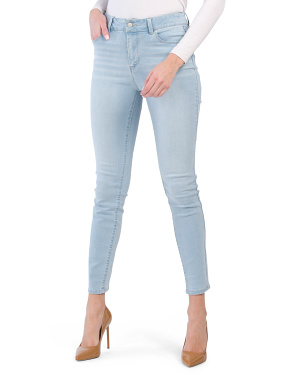 High Waist Recycle Denim Muffin Eliminator Jeans