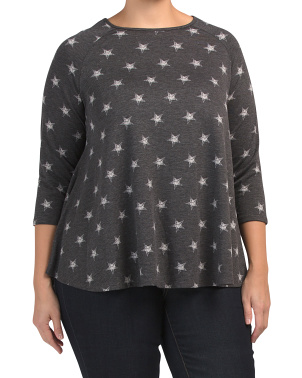 Plus Star Swing Top
