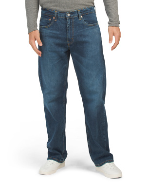 569 Loose Straight  Agave Overt Jeans