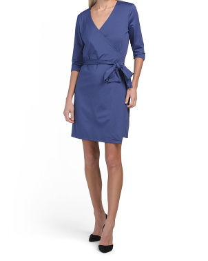 Guiliana Jersey Wrap Dress
