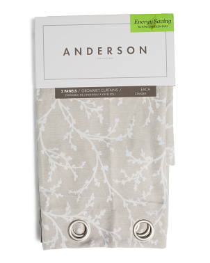 38x84 Set Of 2 Anderson Room Darkening Curtains