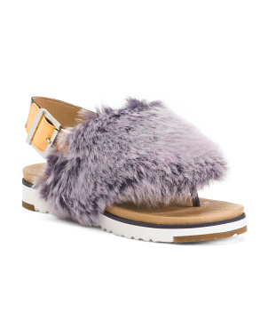 Fluffy Sandals