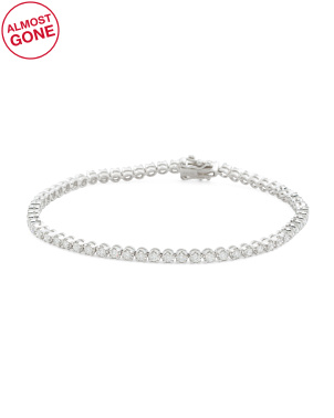 14k Gold Diamond 1.32 T.c.w. Tennis Bracelet