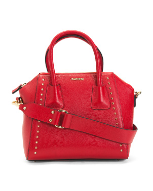 Made In Italy Leather Minimi Preciosa Dollaro Satchel