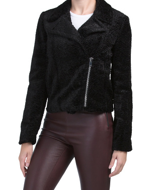Slim Moto Embossed Jacket