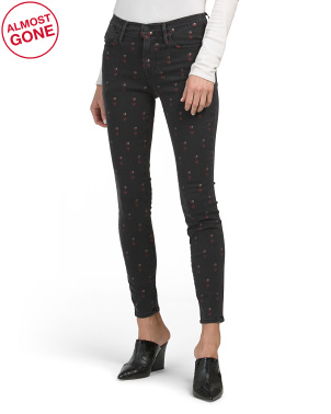 Made In Usa Le High Skinny Heart Jeans
