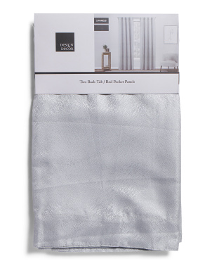 Set Of 2 Lydia Linen Look Curtains