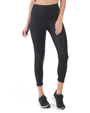 Shine Leopard High Waist Leggings