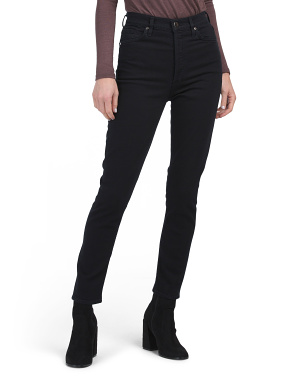 Made In Usa High Rise Slim Jeans
