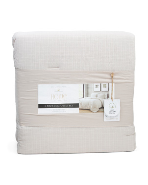 Arlene Textured Comforter Set