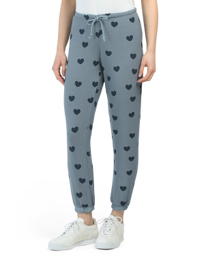 Hearts Haze Cozy Sweatpants
