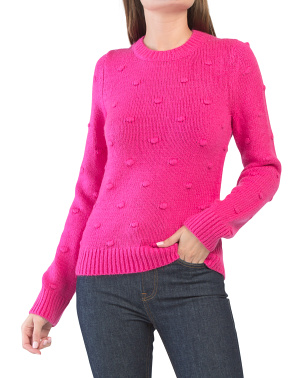Bobble Crew Neck Sweater